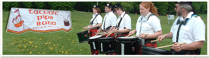 taconic pipe band