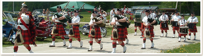 about us - taconic pipe band